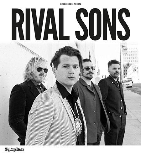Rival Sons 2015 Rival Sons Kommen im März Und