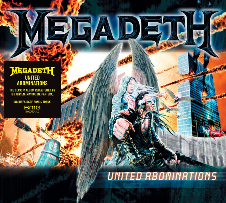 Megadeth United Abominations 2019 Re-Release
